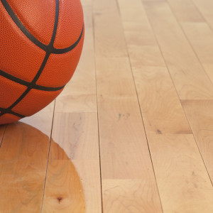 Hardwood Flooring Pros and Cons basketball