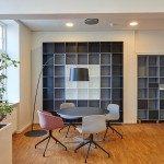 hardwood flooring in office