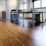 laminate flooring commercial space
