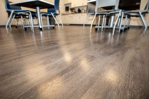 Laminate Flooring in Office Space